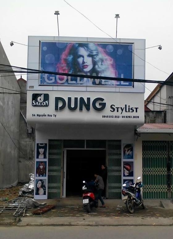 Làm biển quảng cáo salon tóc tại Hà Tĩnh